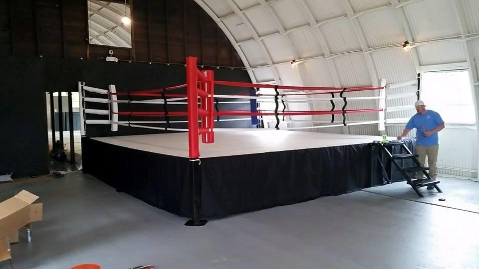 Competition Style Gym Boxing Ring